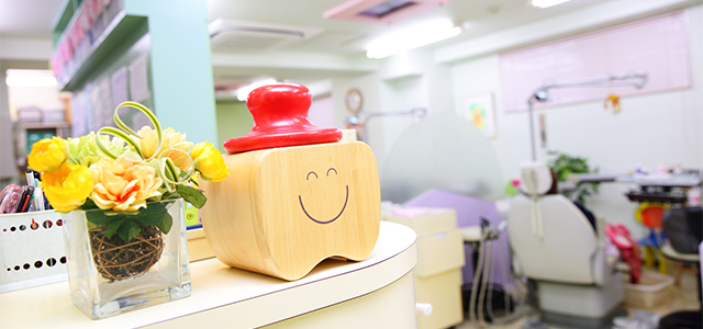 受付と治療室